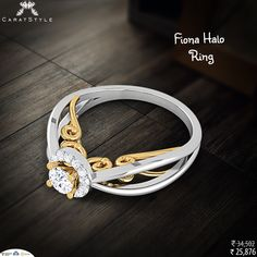 From a unique collection of Fiona halo #ring. #diamond #fashionstyle #exquisite #woman #trends #shopping #perfect