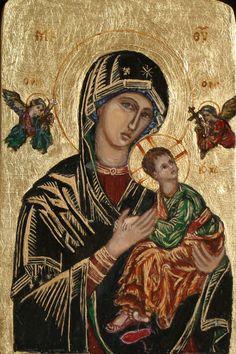 ikona Matki Bożej Nieustającej Pomocy | Strona Irminy Wójcik