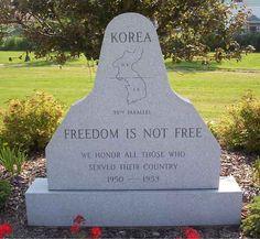 Korean War Veterans Memorial- my father, Donald E. Howard fought in the Korean War.