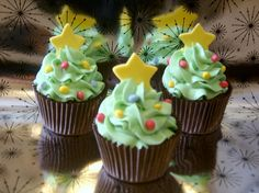 25 Christmas creative cupcakes ideas - fancy-edibles.com
