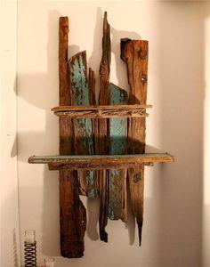 driftwood shelf LOVE LOVE IT