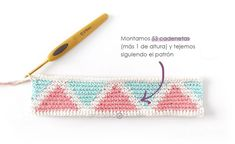 Learn how to make this CUBE Crochet Toiletry Bag usin the Tapestry Technique. FREE Step by Step Tutorial & Pattern. Designed to turn heads! Tapestry Crochet Patterns, Crochet Fabric, Diy Crochet, Crochet Pouch, Crochet Chain, Crochet Handbags, Crochet Purses, Diy Bags Patterns, Knitting Daily