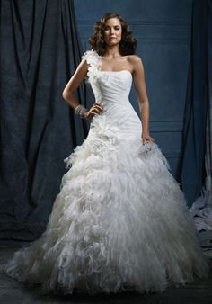 Alfred Angelo Sapphire    868.. this would be a winter wedding dress