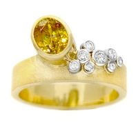 Rosamaria G Frangini | Modern Jewellery | Hand-crafting modern rings by Susan West.