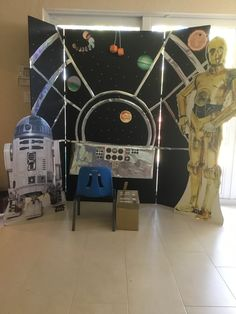 Star Wars party photo op. #eventgineering