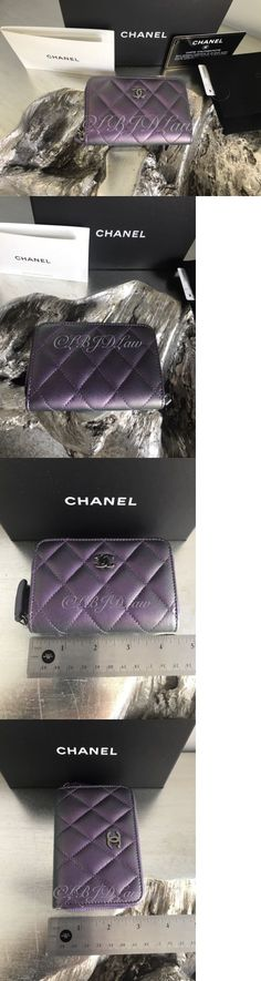 Business and Credit Card Cases 105544: Nwt Chanel Iridescent Purple Mermaid Rainbow Zip Wallet O-Coin Card Holder 2017 -> BUY IT NOW ONLY: $749 on eBay!