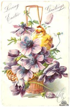 Gallery.ru / Фото #40 - ретро открытки - rosita