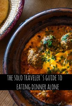 I love solo traveling, but eating dinner alone can be a real challenge. Luckily…