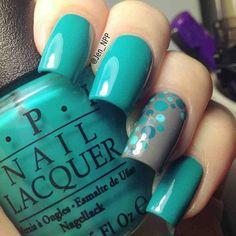NOTD featuring OPI Taylor Blue #nails #notd - @jen @TheNailPolishProject- #webstagram