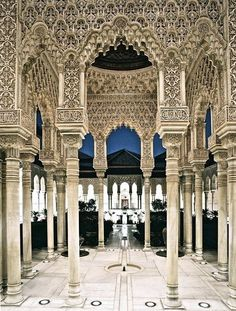 Alhambra - Granada, Spain  - Explore the World with Travel Nerd Nici, one Country at a Time. http://travelnerdnici.com