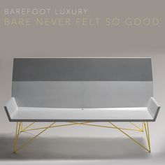 """This week's motif is """"Barefoot Luxury."""" We love this style because it embodies the essence all outdoor products should have: clean lines, quality design and strong,resilient materials. An item that truly embraces the barefoot luxury theme is the  Modern Concrete Bench designed by Brandon Gore. To learn more about Brandon and see more of Brandon's work please  visit  www.shopboxhill.com or visit our blog at http://www.liveoutsideblog.com/brandon-gore-not-your-average-cement-artisan/"""