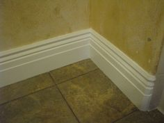 When I see a beautiful wood door, or ch. Baseboards, Baseboard Ideas, Wood Doors, Tile Floor, Home Improvement, Restoration, House, Favorite Things, Construction