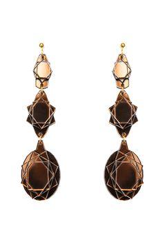 Baguera Vectory Earrings Mocca