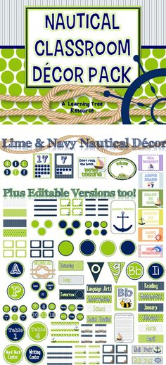 Everything you need to make your classroom ready to set sail!