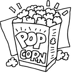 popcorngif 22274 bytes popcorn crafts free coloring pages coloring books