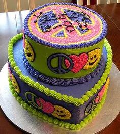 I want a hippie cake