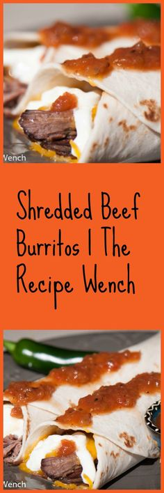 Crock-Pot Shredded Beef Burritos -- I don't think there's any easier recipe.  Go get it!