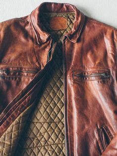 The Whiskey Leather Moto Jacket - The Old & The New   Taylor Stitch