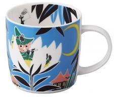 Moomin Valley Mug Cup Yamaka picture book mug leaf Moomins from JAPAN /92hv