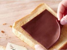 The world is collectively freaking out over chocolate slices