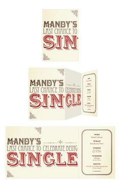 Clever idea for a bachelorette invite #hen #party