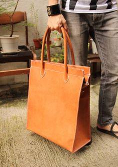 zipper tote bag by Fungus workshop