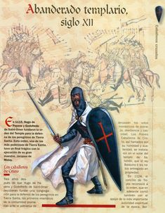 Abanderado Templario (XII)
