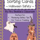 Remind your students to be safe during their Trick-Or-Treating this Halloween!  Students cut sentence cards apart, and sort them based on whether o...