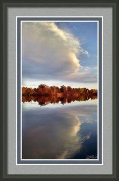 Fall Reflections Framed Print By Stephanie Forrer-harbridge