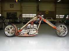 davidson choppers old school