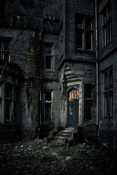 Decayed Castle, Belgium.