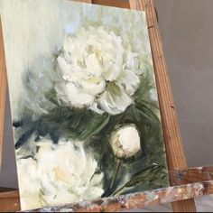 Flower Painting Discover Full drawing video of my new work:) Heres a full scale video of my new work White Peonies oil on canvas 2019 Irina Dimcheva Acrylic Painting Techniques, Painting Videos, Painting Lessons, Painting & Drawing, Modern Oil Painting, Still Life Oil Painting, Oil Painting Flowers, Drawing Flowers, Arte Floral