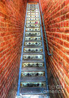 Hidden Stairway in Old Bisbee Arizona