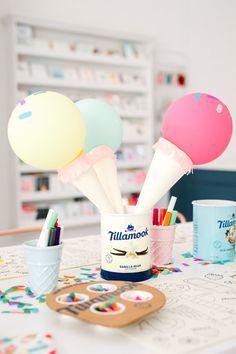 Tillamook Ice Cream, Ice Cream Social, Vanilla, Summer, Blog, Summer Time, Blogging
