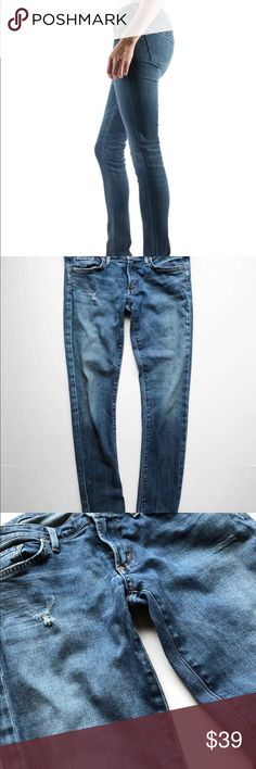 """Citizens of humanity racer skinny jeans 30 Very cute and stretchy skinny jeans by COH. Style is #1443-Racer. These are SUPER skinny and very tight. Please check measurements. FINAL SALE>  Waist across 16"""" Inseam 28"""" Citizens Of Humanity Jeans Skinny"""