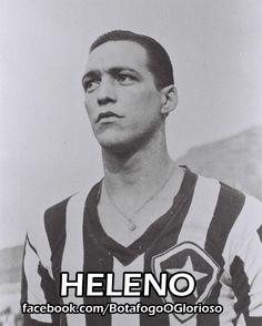 Dono de um gênio intempestivo que muitas vezes o fazia ser expulso de campo e lhe trazia muitos inimigos, Heleno, apelidado de Gilda, por seu temperamento, foi o símbolo de um Botafogo guerreiro, que nunca se dava por vencido. Chegou ao time principal do Botafogo em 1937, com a responsabilidade de substituir o ídolo Carvalho Leite (goleador do tetracampeonato estadual, de 1932 a 35) e não decepcionou a torcida, com grande habilidade e excelente cabeceio.