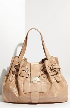 Jimmy Choo 'Ramona - Large' Patent Leather Shopper available at #Nordstrom