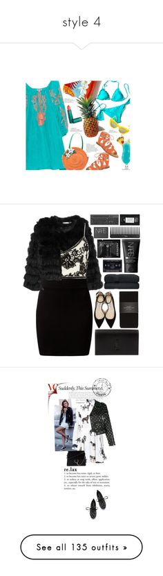 """""""style 4"""" by borteljosef ❤ liked on Polyvore featuring Dolce Vita, Juliet Dunn, TIKI, Quay, Kate Spade, Lipstick Queen, polyvorecommunity, polyvoreeditorial, Alice + Olivia and New Look"""