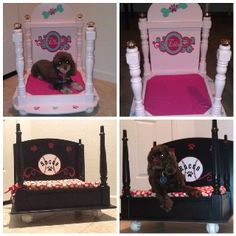 Made This Diy Canopy Dog Bed For My Lucy For Christmas Out