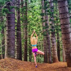 Get inspired to workout and try yoga by in nature with these motivating photos. You'll love looking at these scenic yoga pictures. Try some of these yoga poses next time you're exploring nature.