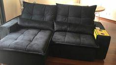 Sofá retrátil e reclinável com pillow top  2,50 = 3590,00  Faz sob medida 😉