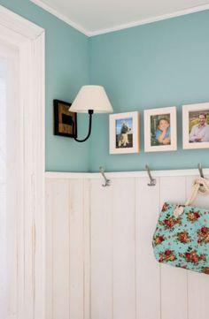 Coge un marco de fotos y crea un perchero personalizado #DIY