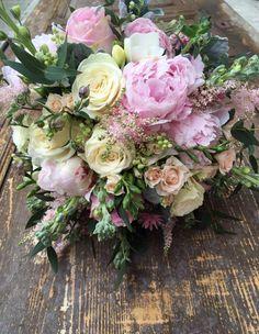 Tone in Tone - Tone in Tone Pink Bouquet, Bouquets, Floral Design, Floral Wreath, Wreaths, Bridal, Decor, Self, Floral Crown