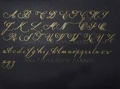 caligrafia artistica passo a passo - Pesquisa Google