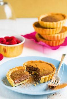 Thuli Gogela's Chocolate-Amarula Milk Tart