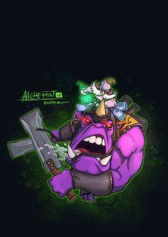 Alchemist Dota 2 by n2c