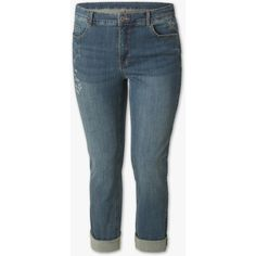 THE SLIM JEANS – comfy fashion, great prices | C&A (£34) ❤ liked on Polyvore featuring jeans, slim jeans, slim fit jeans, blue slim fit jeans, blue jeans and blue skinny jeans