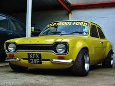 Breathed on Ford Escort Classic Cars British, Ford Classic Cars, British Car, Escort Mk1, Ford Escort, Retro Cars, Vintage Cars, Ford Capri, Ford Motorsport