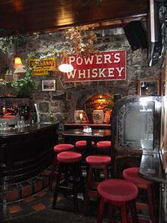 inside the Spanish Arch pub  Galway, Ireland - Irish pubs