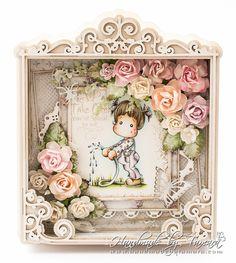 Handmade by Tamara: Spring flowers challenge / NOOR! Design UK